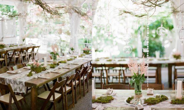 Une décoration de mariage champêtre chic avec Mariage Original