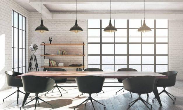 Chaise de réunion design et ergonomique