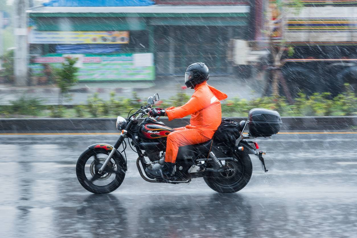 motard combinaison équipement